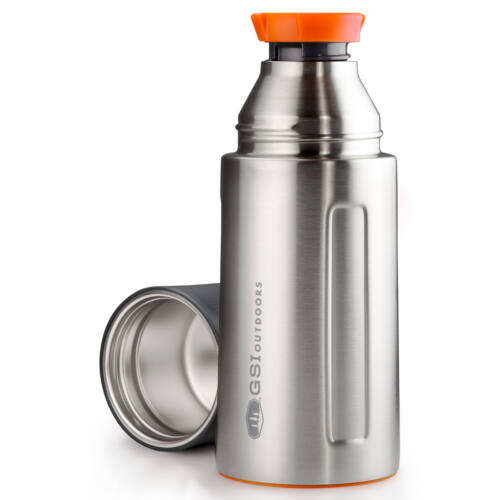 GSI Outdoors Glacier Stainless Vacuum Bottle 0,5 l termosz - silver