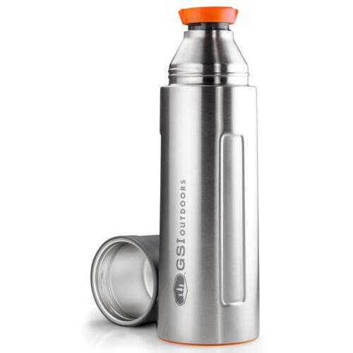GSI Outdoors Glacier Stainless Vacuum Bottle 1 l termosz - silver