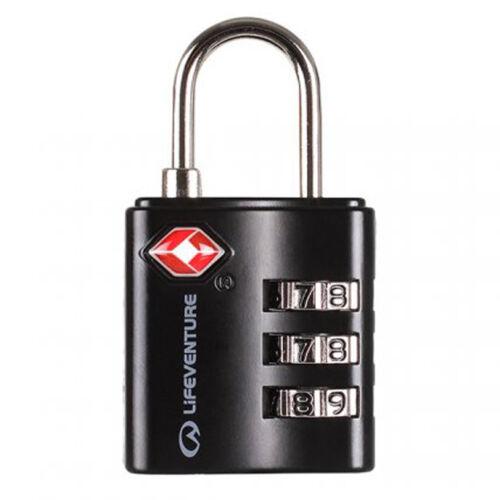 Lifeventure TSA Combination Lock számzáras lakat - black