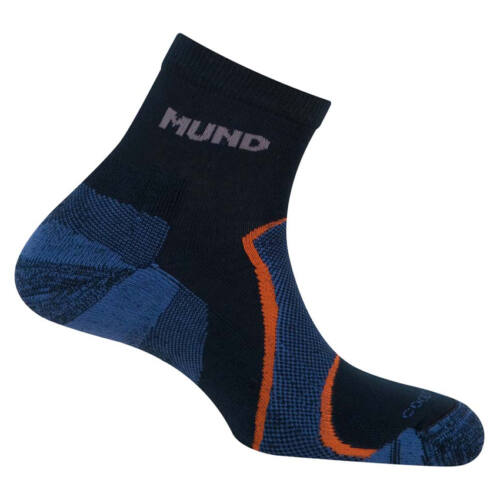 Mund Trail/Cross unisex zokni - navy blue
