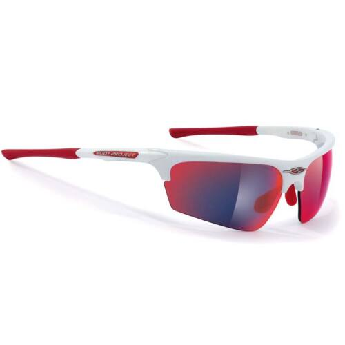 Rudy Project Noyz white gloss/multilaser red