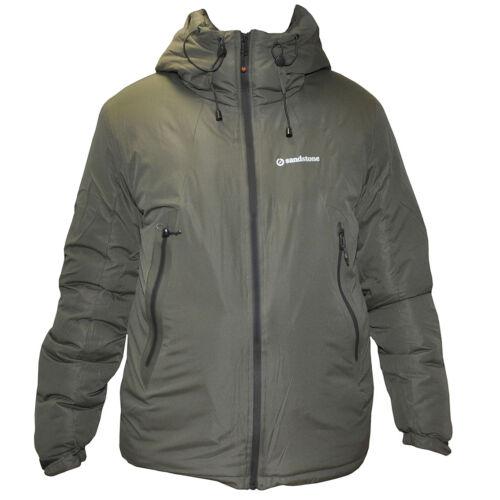 Sandstone Wintry Jacket bélelt téli kabát - olive