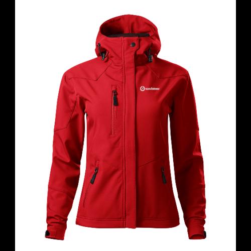 Sandstone Nano női softshell kabát - red