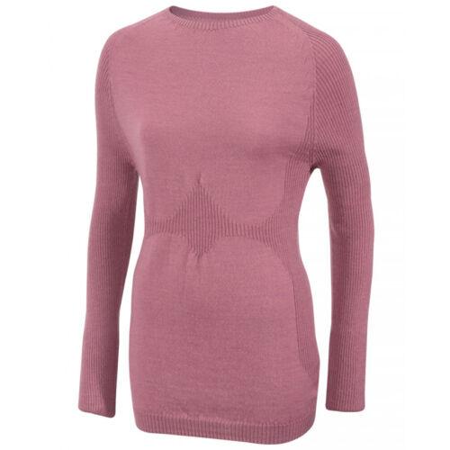Subzero Merino Wool W's LS női gyapjú aláöltözet felső - pink
