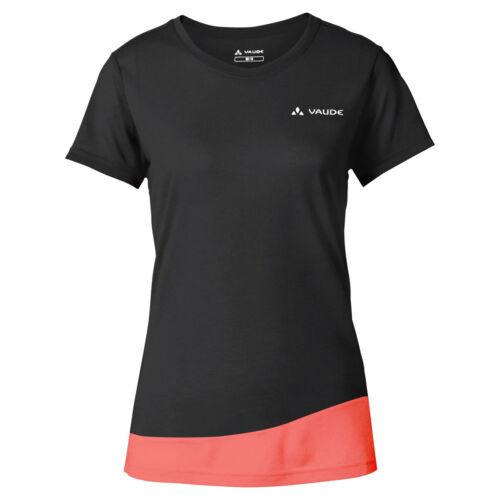 Vaude Sveit T-Shirt női technikai póló - black/pink