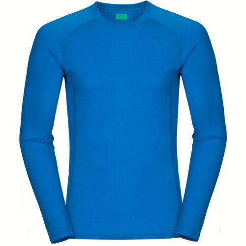 Zajo Bjorn Merino T-Shirt LS - blue jewel