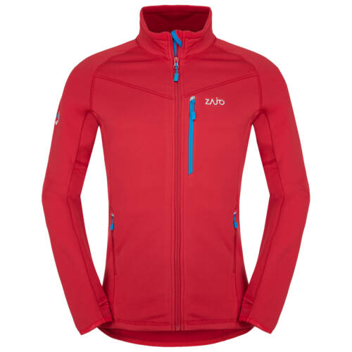 Zajo Arlberg Jacket férfi polár pulóver - racing red