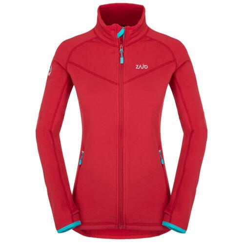 Zajo Anniviers W Jacket női polár pulóver - racing red