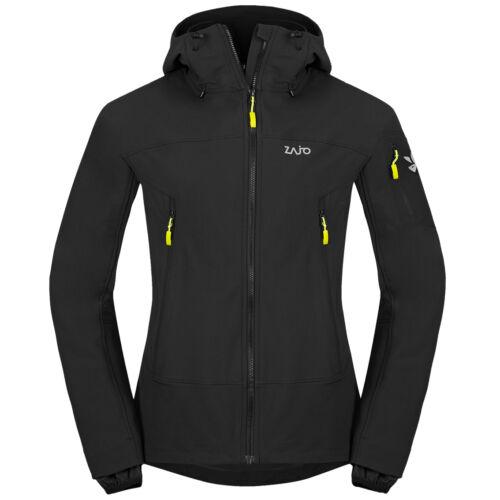 Zajo Air LT Hoody Jacket férfi softshell kabát - black
