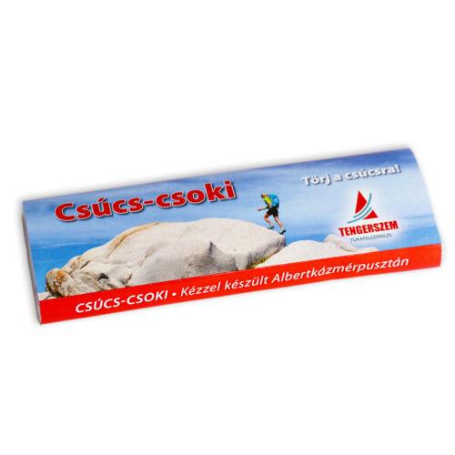 Csúcs-csoki étcsokoládés